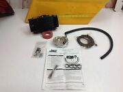 Harley Jagg Oil Coolers Horizontal Low-mount 10 Row Fan-assisted Oil Cooler Kit