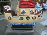 Noah's Arc Kiddie Ride Coin Operated Amusement Shopping Center Coin Ride