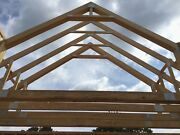 Wood Floor + Roof Trusses Clear Span Pitch Engineered All Sizes Available