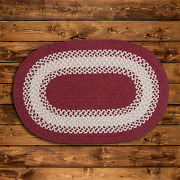 North Ridge Berry Braided Area Rug/runner By Colonial Mills. Many Sizes. Ng79