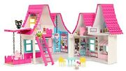 Hello Kitty Doll House Set 15 Dollhouse 6 Room Kids Fun Play Toy Best Gift New