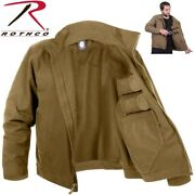 Lightweight Concealed Carry Jacket Coyote Brown Ccw Tactical Coat 3801 Rothco