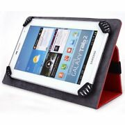 Ematic Egq307qv 7 Inch Tablet Case, Unigrip Edition - Red - By Cush Cases