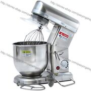 7l Heavy Duty Stainless Steel Electric Kitchen Food Countertop Stand Mixer