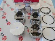 Engine Piston Set 6 +.020 Over Fits L24 And L26 - 240z And 260z Datsunand039s 1969-1975