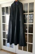 Mens Full Leather Cape By David Samuel Menkes - Gay Interest - Leather - Nyc
