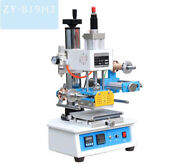 Zy-819h2 Pneumatic Hot Foil Stamping Machine 116120mm Printable Area