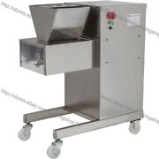 Stainless Steel 800kg/h Electric Restaurant Fresh Meat Cutting Machine Cutter