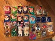 Mcdonals Happy Meal Toys Vintage Lot Ty Beanie Baby 26 Different Items