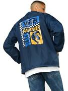 Off The Wall Menand039s Marvel Black Panther Torrey Coaches Windbreaker Jacket