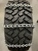 8mm Extra Thick Heavy Duty Tire Chains 33x12.50r15lt    55-2-4