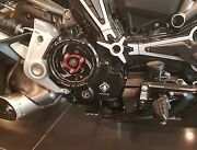 Ducati Monster 1200 Ducabike Clean Clutch Cover Black Spring Retainer