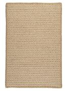 Natural Wool Houndstooth Tea Tan Braided Area Rug/runner. Many Sizes. Hd33 Tea