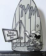 Disney Auctions Mickey Mouse Club Talent Roundup Day Le 100 Pin