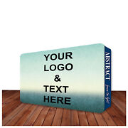 10and039x8and039 Wall Box Fabric Tradeshow Display Single Sided Advertising Backdrop Booth