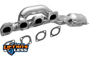 Magnaflow 452451 2.5 Inlet/2 Outlet Df Catalytic Converter For 99-01 Bmw 740il