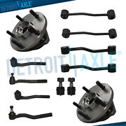 For 1999 - 2001 2002 2003 2004 Jeep Cherokee - Front Wheel Bearing Hub Tie Rods