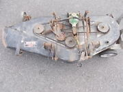 Bolens Fmc 48 Mower Deck With Shaft Gearbox And Hangers