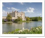 Ancient Castle In Leeds Kent With Art Print Home Decor Wall Art Poster - C