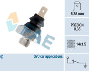 Oil Pressure Sensor Switch 11 For Fiat Fiorino Box 60 1.1 1.7 D