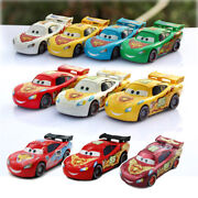 Cars 2 Colorful Lightning Mcqueen Series Diecast Toy Car 155 Loose Kids Toys