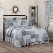 Sawyer Mill Blue Quilt Set And Accessories. Choose Size And Accessories. Vhc Brands