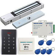 125khz Door Access Control Kit 280kg/600lb Electric Magnetic Lock With Ul Listed