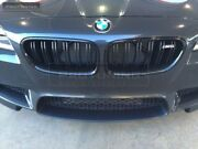 Black Gloss Front M5 Central Grill For Bmw 5 Series F10 F11