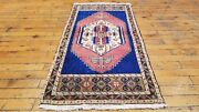 Antique 1and0397andtimes3and0395 Wool Pile Cushion Cover Face Natural Dyes Rug