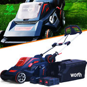 Cordless Lawn Mower Self-propelled 84v Lithium 2.5 Ah Batteryandcharger 19 In. Cut