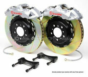 Brembo Gt Bbk 4pot Front For 1997-2003 Bmw 5-series E39 2000-2003 M5 1b2.8010a3