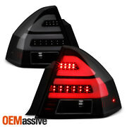 For 2006-2013 Chevy Impala 14-16 Limited Led Tube Black Smoked Tail Lights Pair