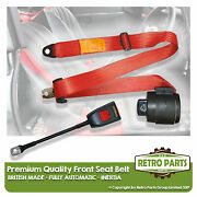 Front Automatic Seat Belt For Lotus Elan 51 Sports 1962-1965 Red