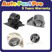 For Nissan Sentra 2.0l 2000-2001 Engine Motor And Trans Mount Auto Trans 4pcs