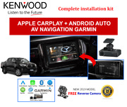 Kenwood Dnx5180s Stereo+drv-n520 Dash Camera To Suit Toyota Hilux 2016-2018