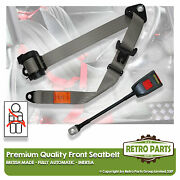 Front Automatic Seat Belt For Lancia Flavia 815 Coupe 1962-1969 Grey