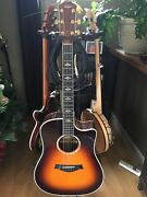 Taylor 810 Ce Tobacco Burst Dreadnought 2005 Taylor Electronics Updated In 2013andnbsp