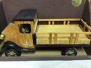 Vintage Collectible D.ghiradelli Chocoalte Factory Hand Crafted Wooden Truck