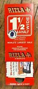 Vintage 1980 Cigarette Rizla 1 1/2 Wide Box Of 24 Rolling Papers Rice Nos Vhtf
