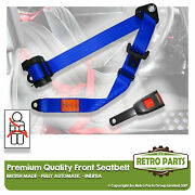 Front Automatic Seat Belt For Toyota Corolla Hatchback 3dr 1987-1992 Blue