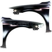Capa 03-08 Mazda6 Non-turbo Front Fender W/spoiler Holes Left And Right Set Pair