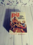 Vintage 1970s Pit Stock/trading Card Game With Box Complete Euc