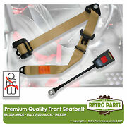 Front Automatic Seat Belt For Swallow Doretti Sports - 1954-1956 Beige
