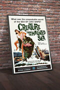 Creature From The Haunted Sea 1961 Movie Poster Framed