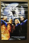 Fantastic Four And The Silver Surfer 2007 Film Poster 13.5 X 20