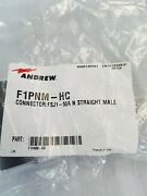 Andrews F1pnm-hc N Male Connector For 1/4 Cable