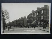 London Chiswick Lane Animated Street Scene Shows Manor Stores - Old Rp Postcard