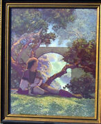 Vintage Maxfield Parrish Andldquothe Andrdquo From The Knave Of Hearts Print Published