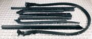 1965-1970 Buick Electra Olds 98 Cad Deville Convertible Top Weatherstrip 7 Pckit