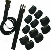 Marine Boat Boat Cover Tie Down Kit 1 Wide X 8and039 Long 12 Pack 55133